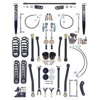 """NEW CURRIE JOHNNYJOINT 4"""" SUSPENSION SYSTEM,FRONT SWAY BAR LINKS,STEEL REAR SWAY BAR,FOR 07-18 JEEP JK 4D, CE-9807AS"""