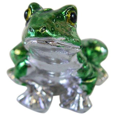 Ganz Decorative Frog Figurine  Tiny Ganz Zoo Animal Figurine ()