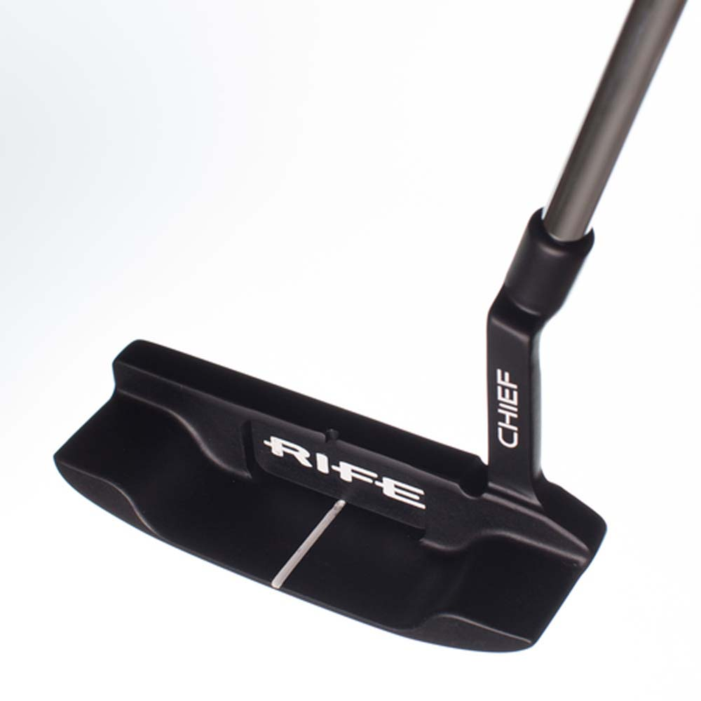"Rife Golf Chief Left Hand Black Putter 35"" CHIEF-PN-16-L"