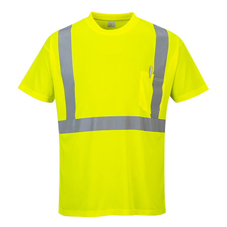 Portwest Hi Vis Pocket T Shirt