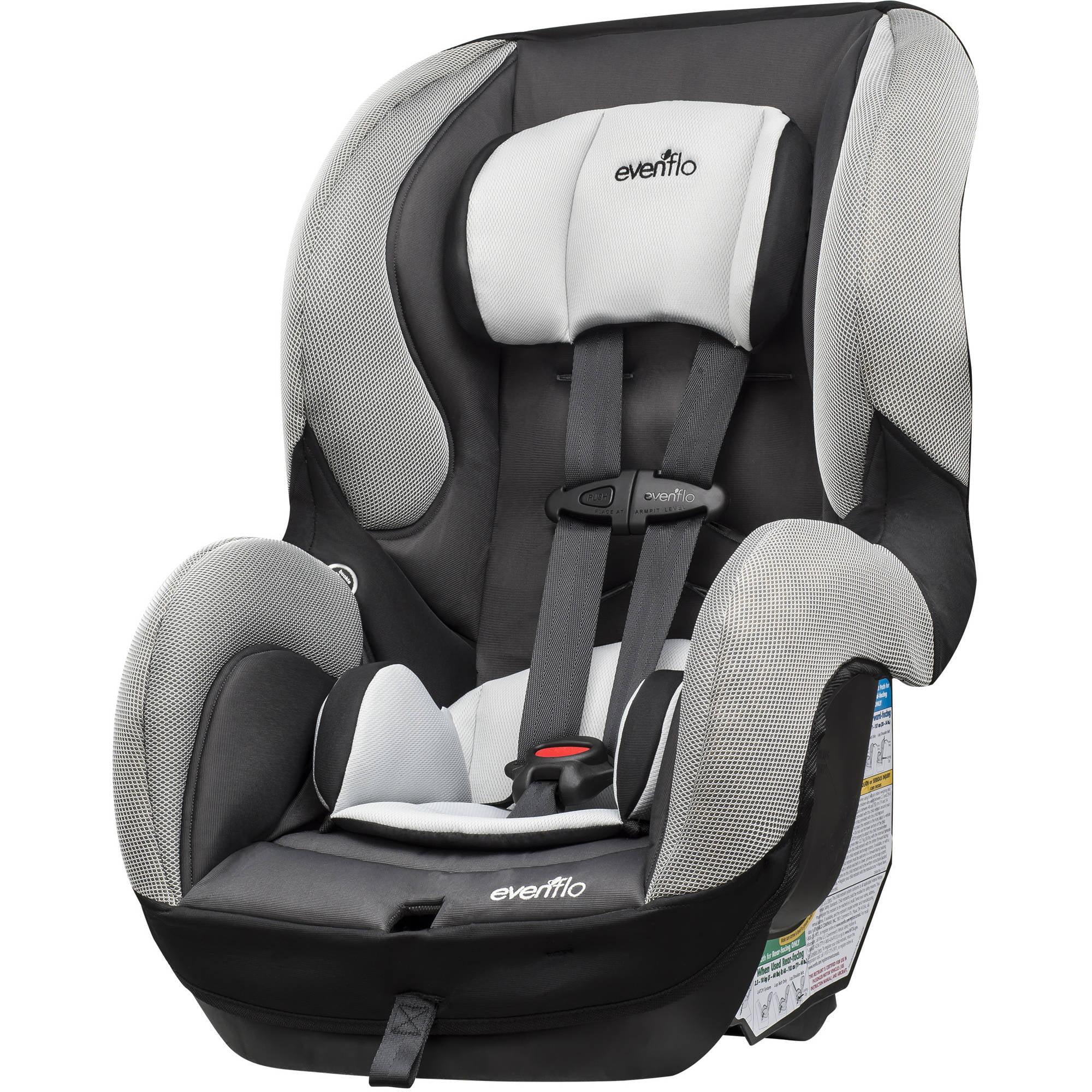 evenflo sureride dlx convertible car seat paxton walmart com rh walmart com evenflo car seat manual symphony evenflo car seat user manual