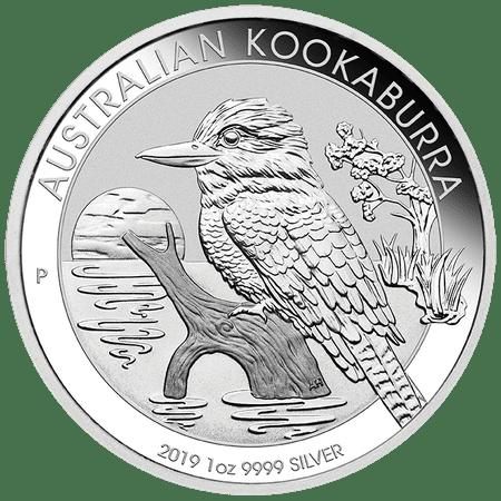 Australian 10 Cent Coin (2019 Australian Kookaburra Silver Coin 1)