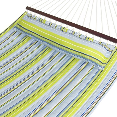 Best Choice Products Quilted Double Hammock w/ Pillow