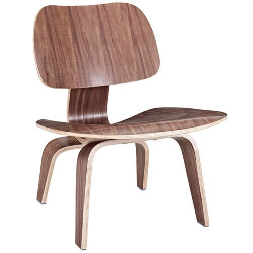Nicollet Lounge Chair in Walnut