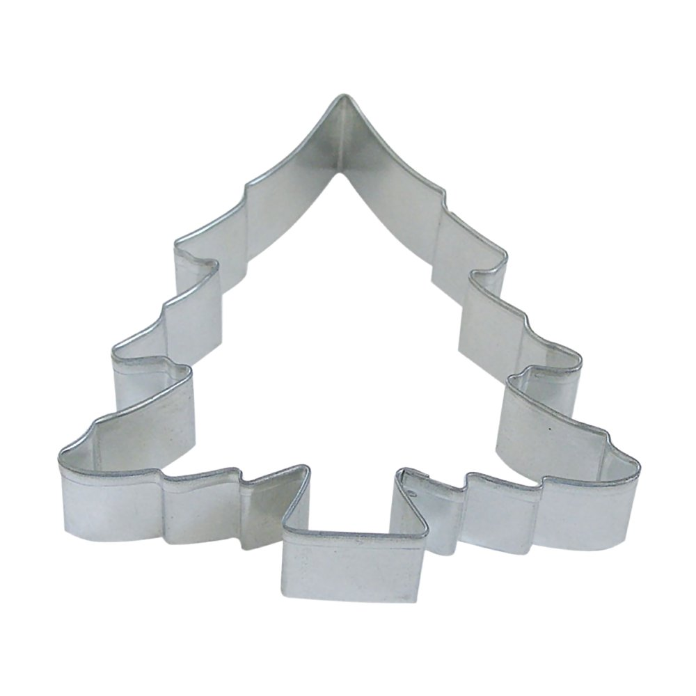 Christmas Tree 5 in B1047X - R&M Brand Cookie Cutters - Tin Plate Steel
