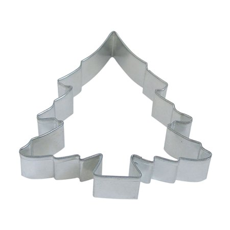 - Christmas Tree 5 in B1047X - R&M Brand Cookie Cutters - Tin Plate Steel