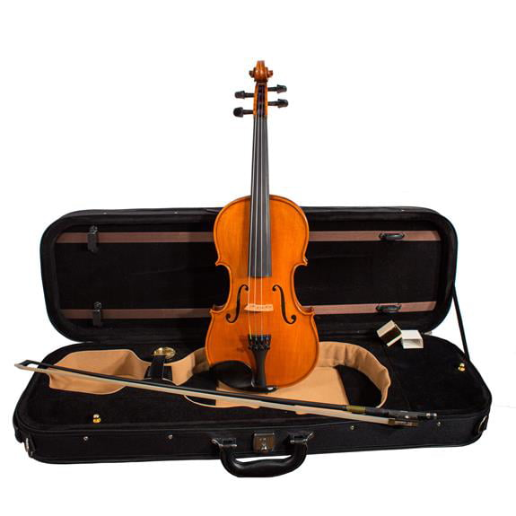 Mathias Thoma Model 100 Violin Outfit, Carbon Bow, Dominant, Wittner and Case by MATHIAS THOMA