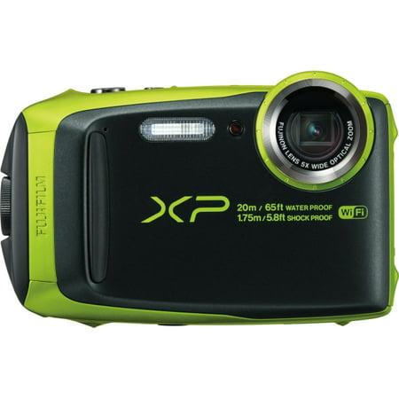 Fujifilm FinePix XP120 16.4 Megapixel Compact Camera - Lime - 3