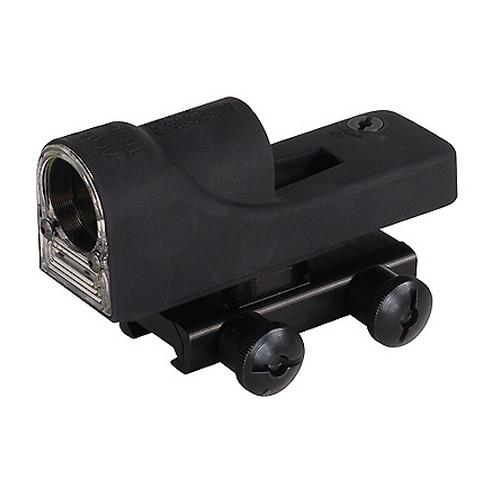 Trijicon Reflex 1x24mm Sight 6.5 MOA Amber Dot Reticle with Flattop Mount, Black