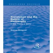 Translation and the Nature of Philosophy (Routledge Revivals) - eBook