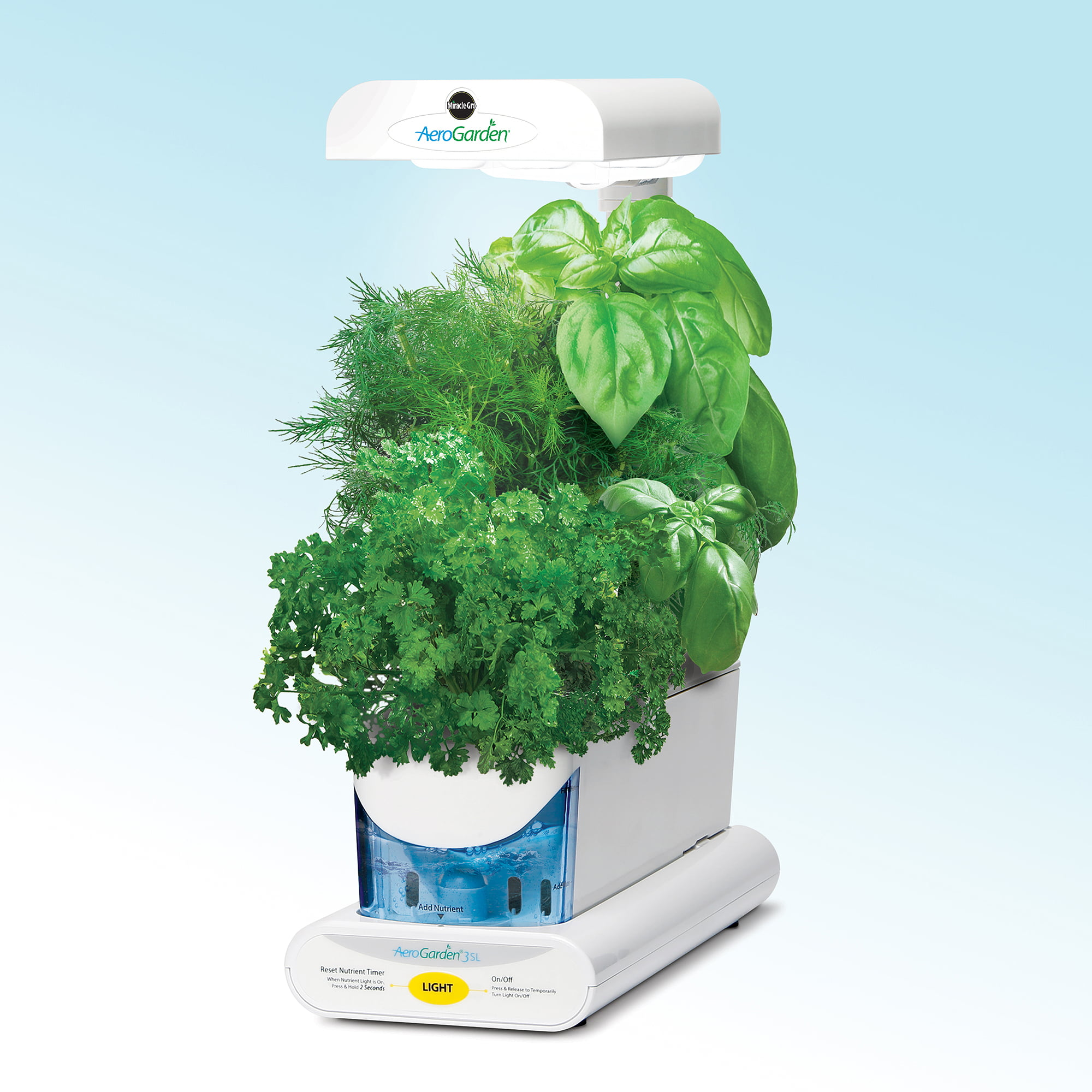 Marvelous Miracle Gro AeroGarden 3SL With Gourmet Herb 3 Pod Seed Kit   Walmart.com