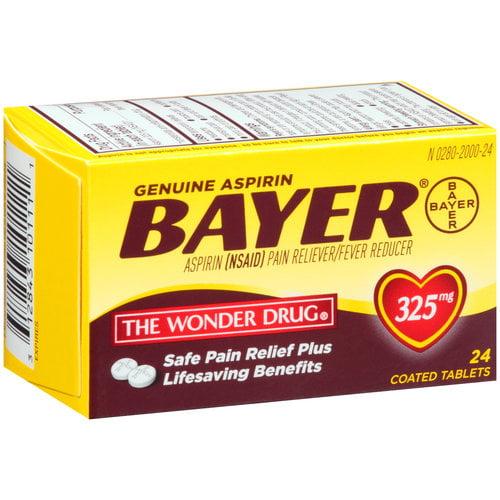 Bayer Asp Tab 325mg 24s 6dz