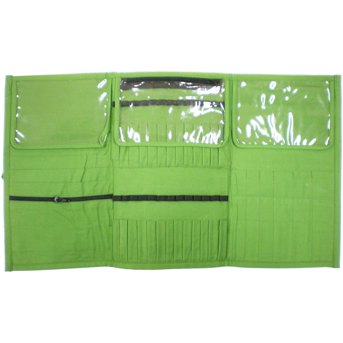 "Premier Yarn Needle and Notions Organizer, 10.75"" x 6.5"" x .5"", Green"