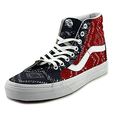 11cc323f1c Vans - Vans Womens Sk8 Hi Slim Canvas Hight Top Lace Up Fashion Sneakers -  Walmart.com