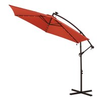 Better Homes & Gardens Canyon Lake Solar LED Cantilever Umbrella