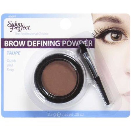 Salon perfect brow defining powder cosmetics 08 oz for Hair salon perfect first essential