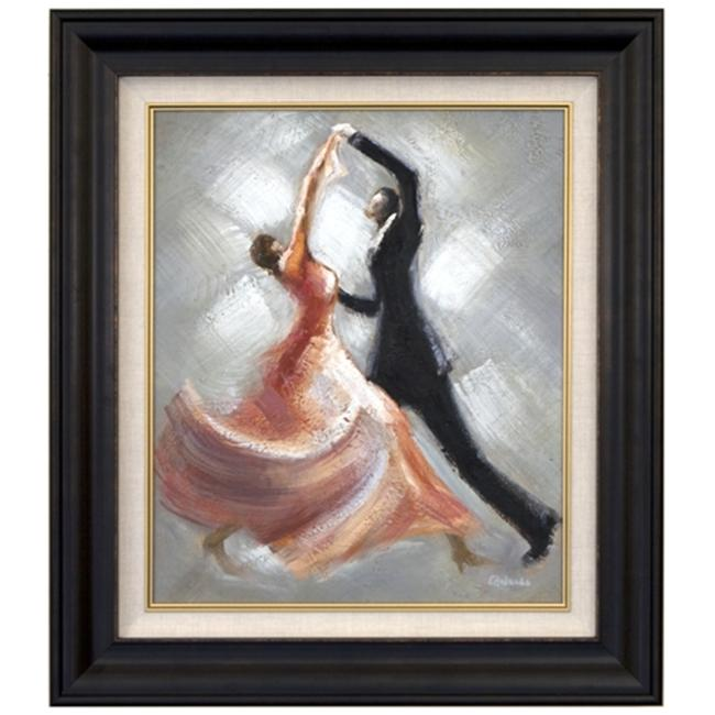 Artmasters Collection CY0375-8607NL Evening Dance III Framed Oil Painting
