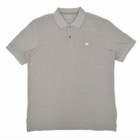 New  [3032] Banana Republic Men's Pique Polo Shirt Birdseye Beige Sz Small S $36