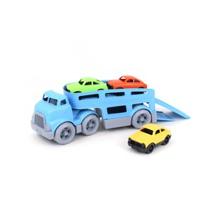 Green Toys Car Carrier w| Cars