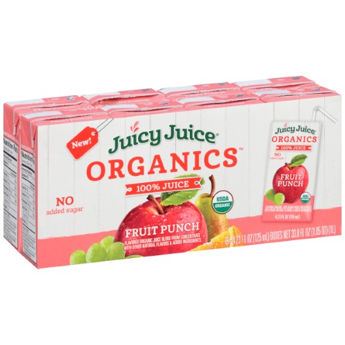 100% Fruit Punch Juice (Pack of 4)