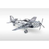 Metal Earth 3D Laser Cut Model, P-51 Mustang