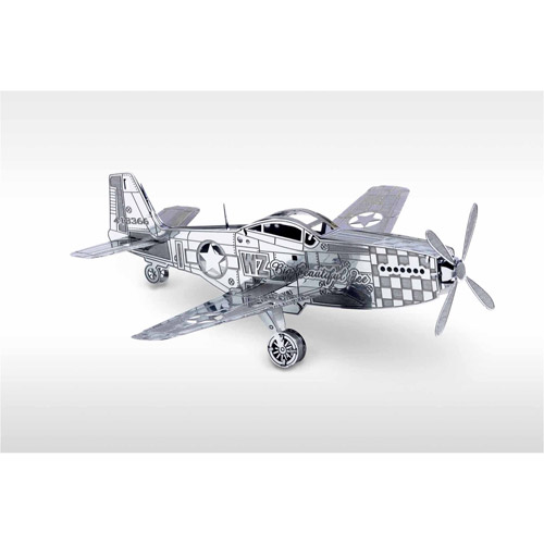 Metal Earth 3D Laser Cut Model, P-51 Mustang