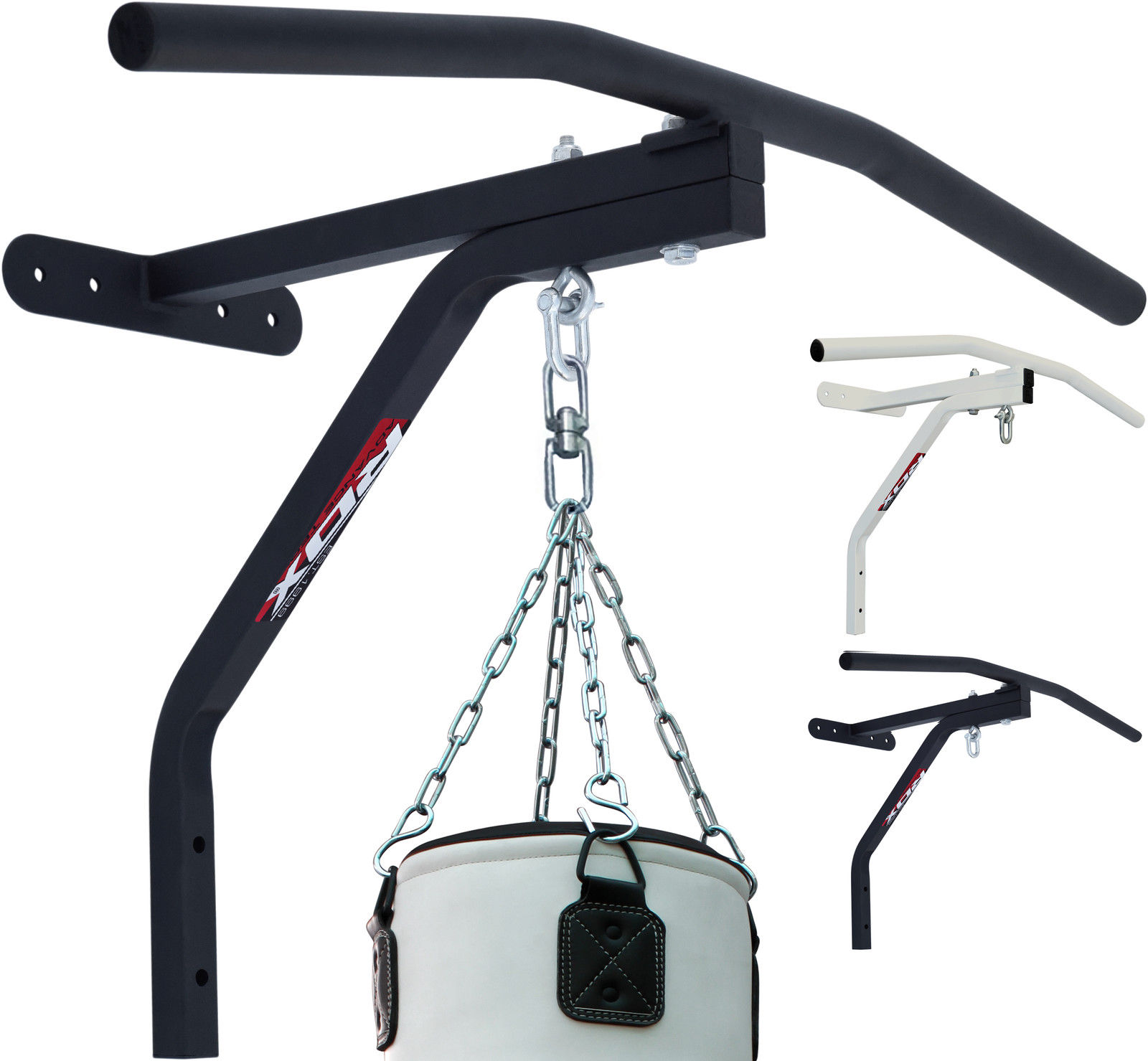 RDX Wall Mount Chin Up Bar Punching Bag Punch Bracket Heavy Workout