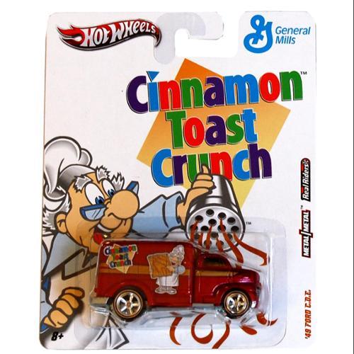 Hot Wheels Nostalgia Cars Cinnamon Toast Crunch 49 Ford COE