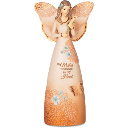 Pavilion Gift Company Light Your Way Memorial 19043 Mother Angel Figurine