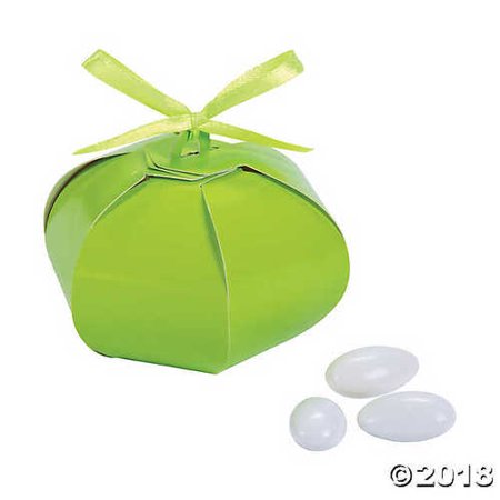 Lime Green Wedding Sphere Favor Boxes](Lime Green Wedding)