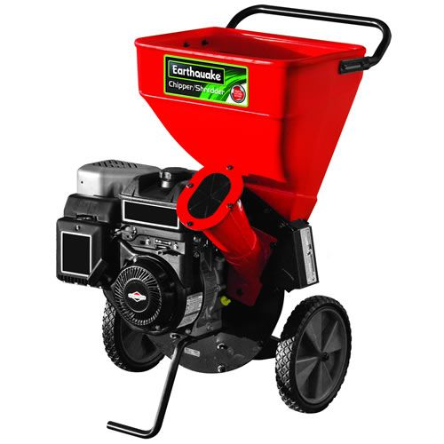 "Earthquake 9060300 3"" 206cc Gas Powered Wood Chipper / Shredder with Briggs and"