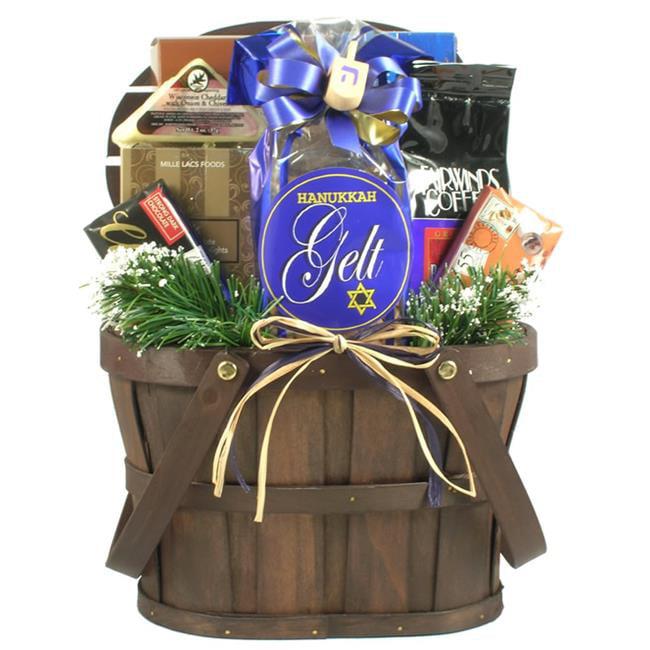 Gift Basket Vilage CeOfHa-Sm A Celebration of Hanukkah, Gift Basket - Small