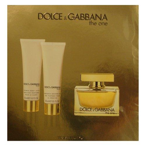 c09c0551 Dolce & Gabbana - D&G THE ONE Women 3 Piece Gift Set - 2.5 oz EDP SPRAY by  DOLCE & GABBANA - Walmart.com