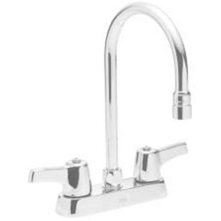 Delta Faucet Company : Delta Faucet Company 561245Lf Delta Teck Deckmount Gooseneck Kitchen ...
