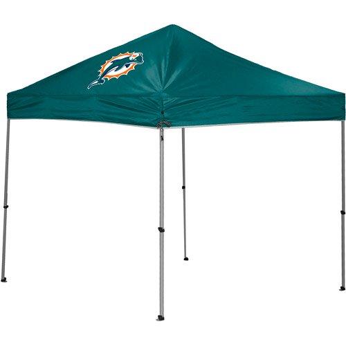 Rawlings Miami Dolphins 9u0027 x 9u0027 Straight Leg Canopy  sc 1 st  Walmart.com & Rawlings Miami Dolphins 9u0027 x 9u0027 Straight Leg Canopy - Walmart.com
