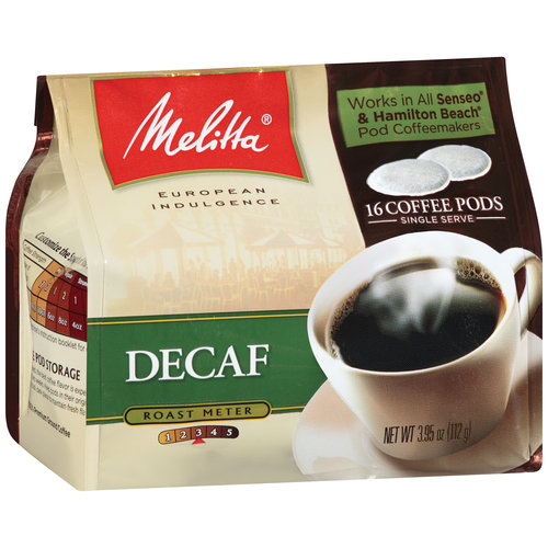 Melitta Decaf Coffee Pods, 16ct