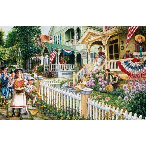 Cape May on the 4th of July Jigsaw Puzzle 1000 Piece Multi-Colored
