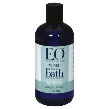 EO Products, EO Be Well Eucalyptus & Arnica Bubble Bath, 12 fl oz