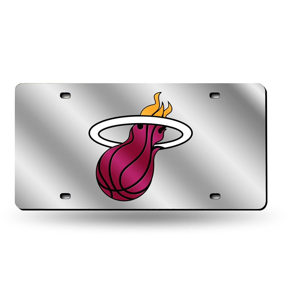 Miami Heat NBA Laser Cut License Plate Tag