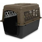 """Petmate RuffMaxx Plastic Dog Kennel, Brown, Large, 40""""L x 27""""W x 30""""H"""