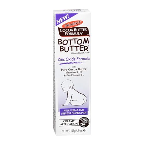 Palmers Cocoa Butter Formula Bottom Butter Zinc Oxide Diaper Rash Cream, 4.4 Oz, 6 Pack