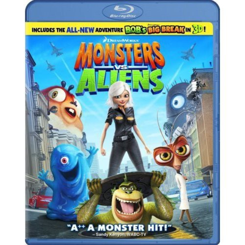 Monsters Vs. Aliens (Blu-ray) (With INSTAWATCH) (Widescreen)