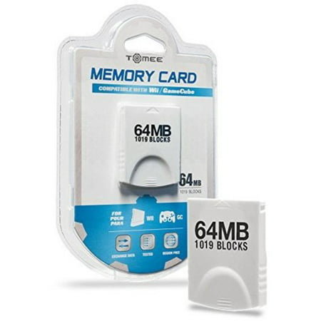 Tomee 64MB Memory Card (1019 Blocks) for Nintendo Wii and -