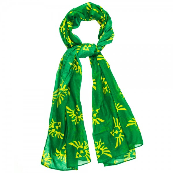 Viscose Scarf - Nintendo Zelda Green New Toys Licensed sf1l6kzss