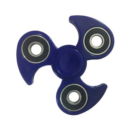 Speedo Wave (Fidget Spinner High Speed Dark Blue Ninja Swipe Wave Relief Toy)