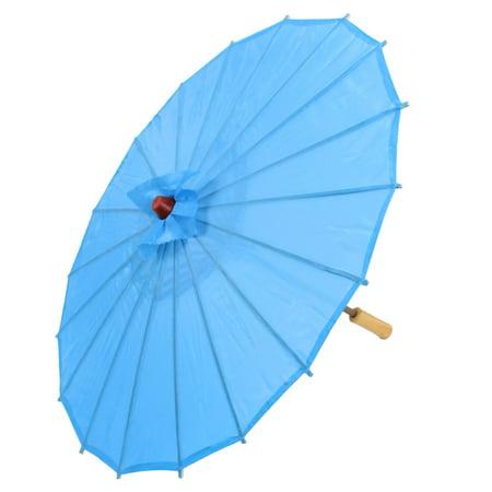 Chinese Asian Oriental Japanese Stage Dancing Umbrella Parasol 22 Dia Blue](Japanese Umbrella Monster)