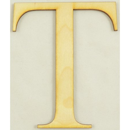 Tau Greek Letter Size:4 Inch Thickness:1/4