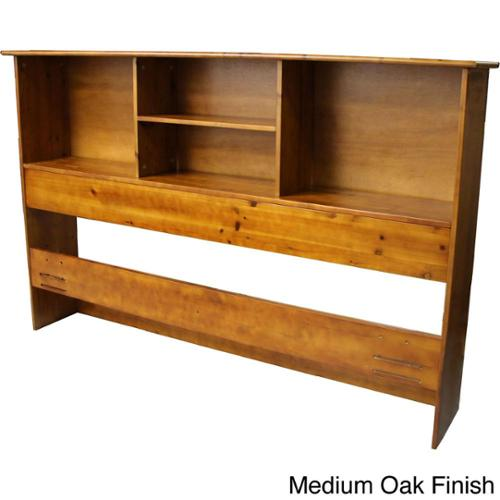 EpicFurnishings Scandinavia Solid Bamboo Wood Bookcase Headboard