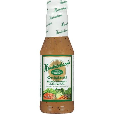 Hendrickson 39 S Original Sweet Vinegar Olive Oil Dressing Marinade Seasoning 16 Fl Oz