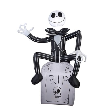 Jack Skellington Airblown Halloween Decoration